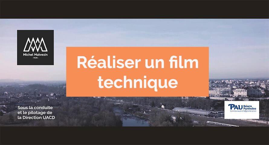 film technique agglomération pau